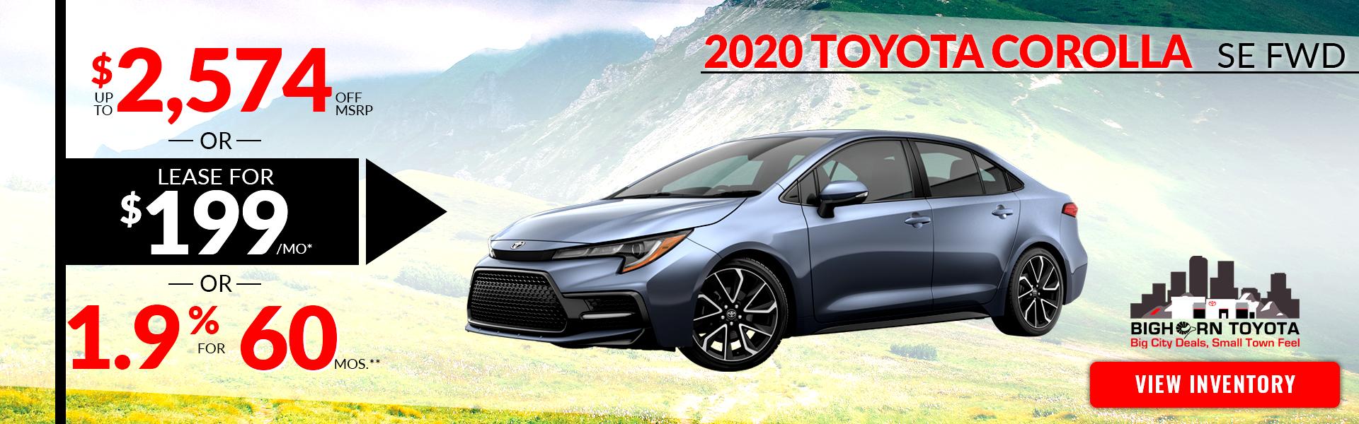Toyota Dealers Utah >> Colorado Toyota Dealer Glenwood Springs Toyota New And